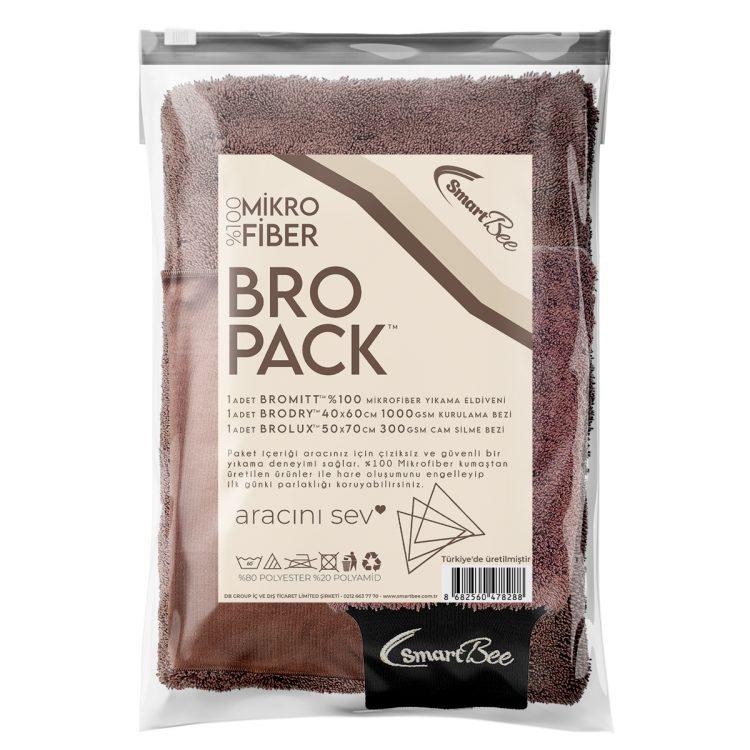 BROPACK Edgeless Mikrofiber Oto Yıkama Paketi