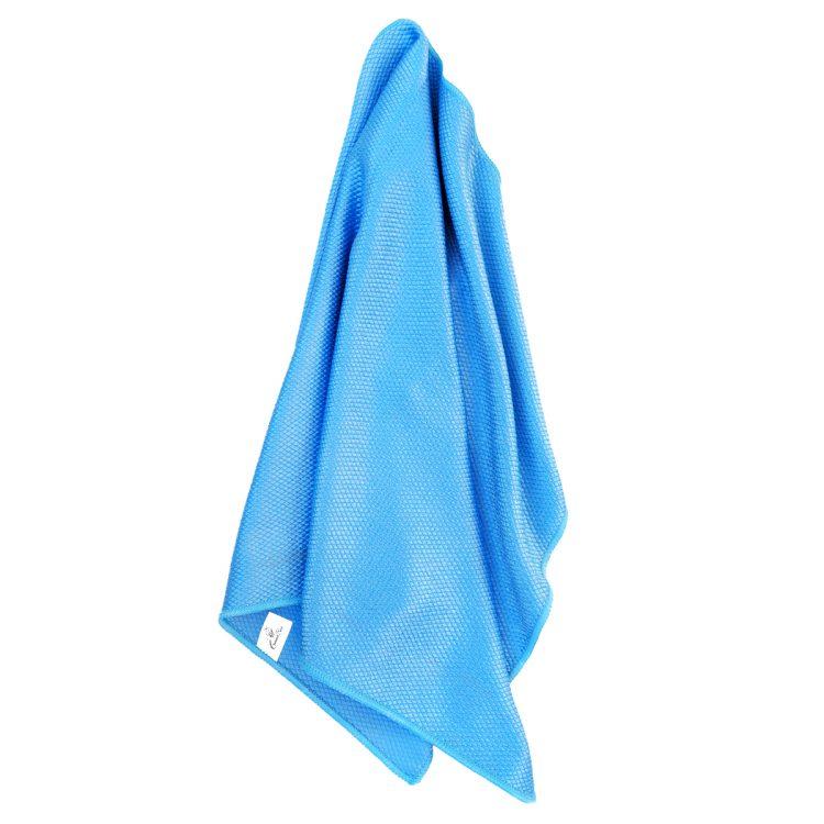 Mikrofiber Cam Silme Bezi 50x70 235gr/m2 - Mavi