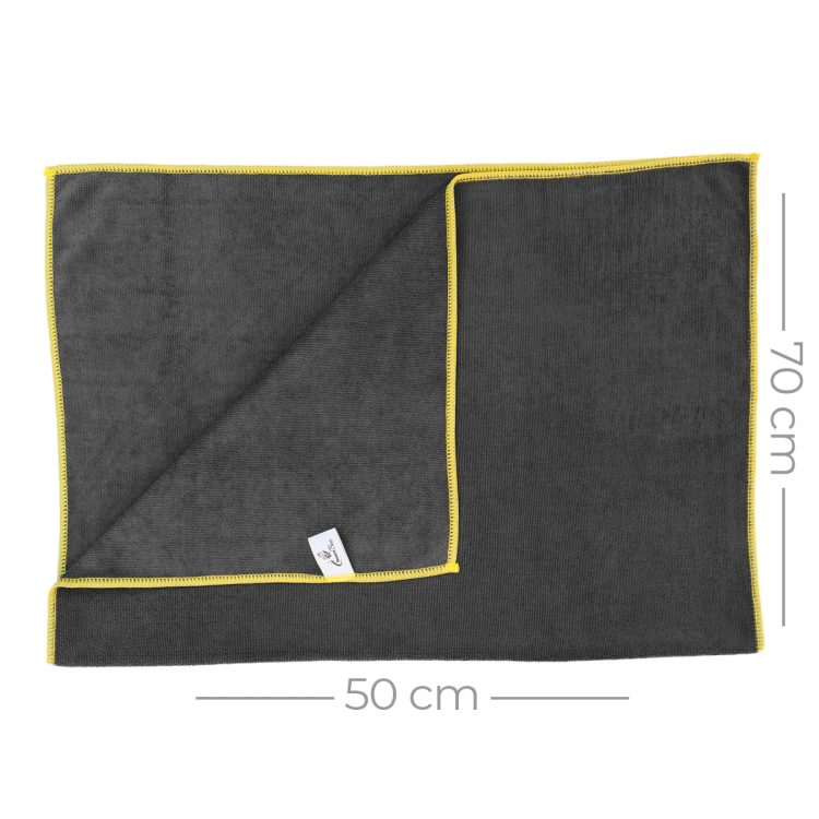 Mikrofiber Parlak Araç Kurulama Bezi 50x70 380gr/m2